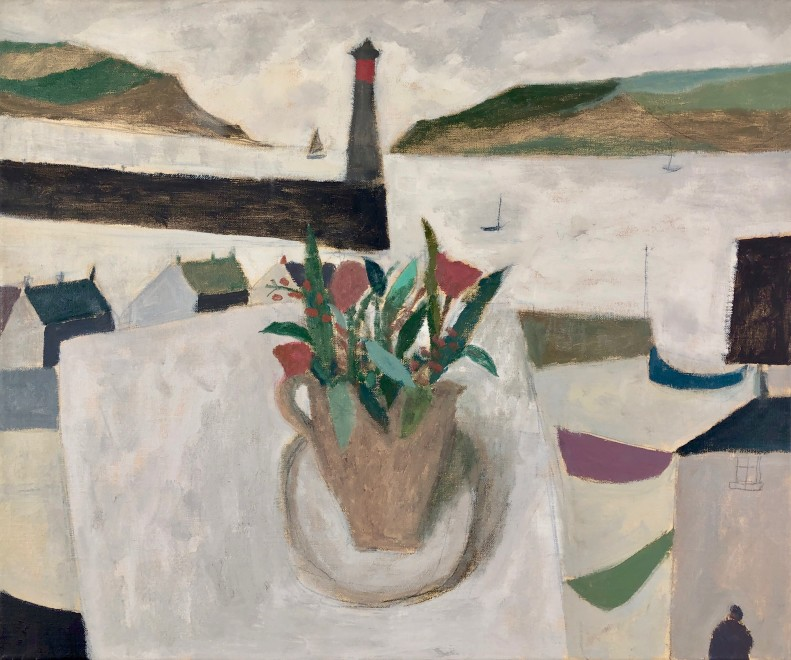 Harbour with Flowers