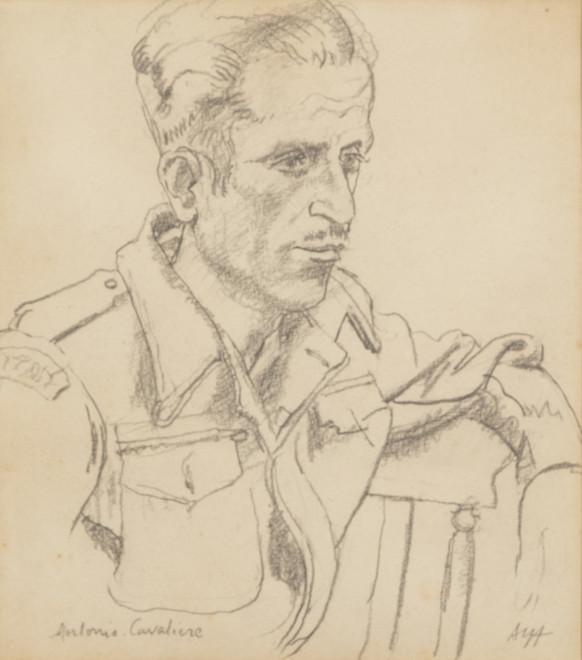 Study for a Portrait of Antonio Cavaliere