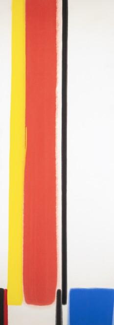 Red, Yellow, Black V (Blue)