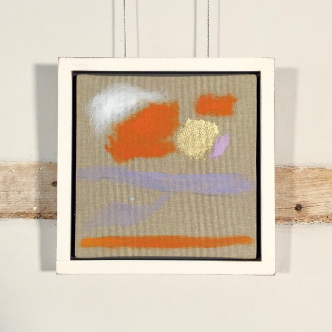 Study (with Orange and Lilac)
