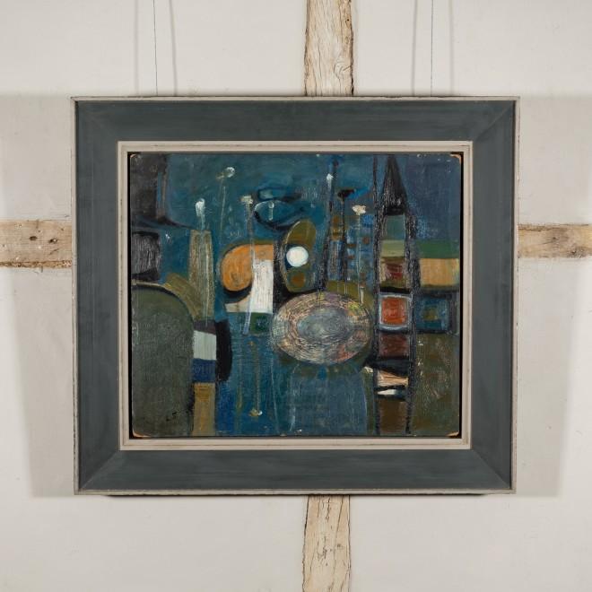 Composition (Blue)