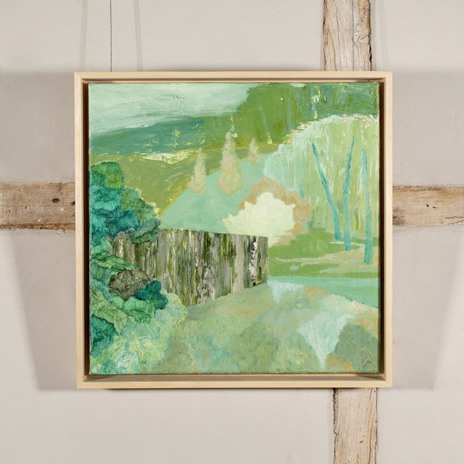 Untitled (Woodland with Wall)