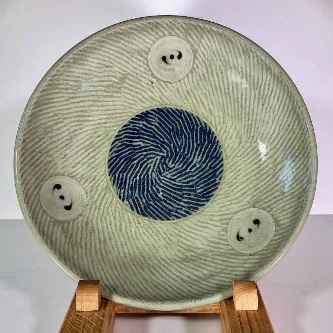 Thrown open bowl (Four Circles)