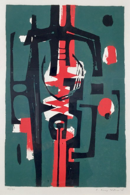 Untitled (Green, Red, Black)