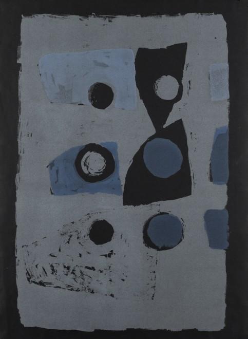 Variations on Six (Blue on Black)