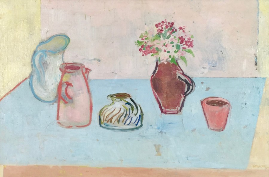 Still life with Jugs