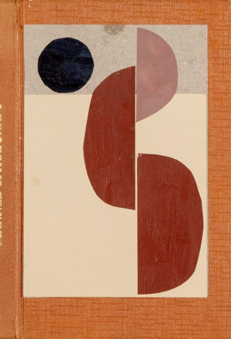 Book Cover Collage I (Orange)