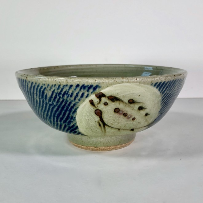 Bowl with inlay
