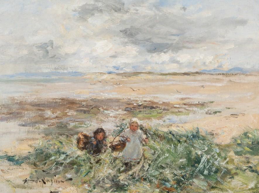 Children in the Dunes