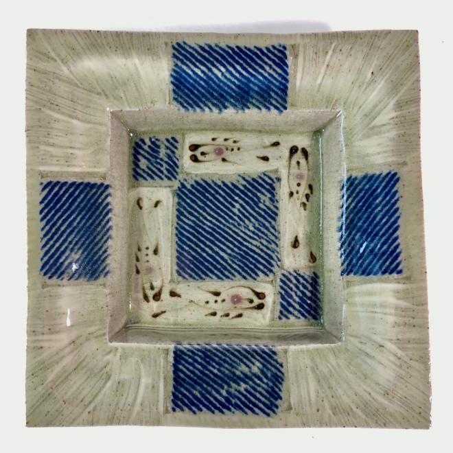Square plate (Four)