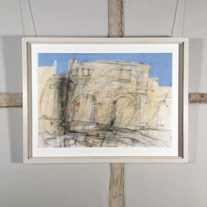 Study for Twin Arches, Gozo