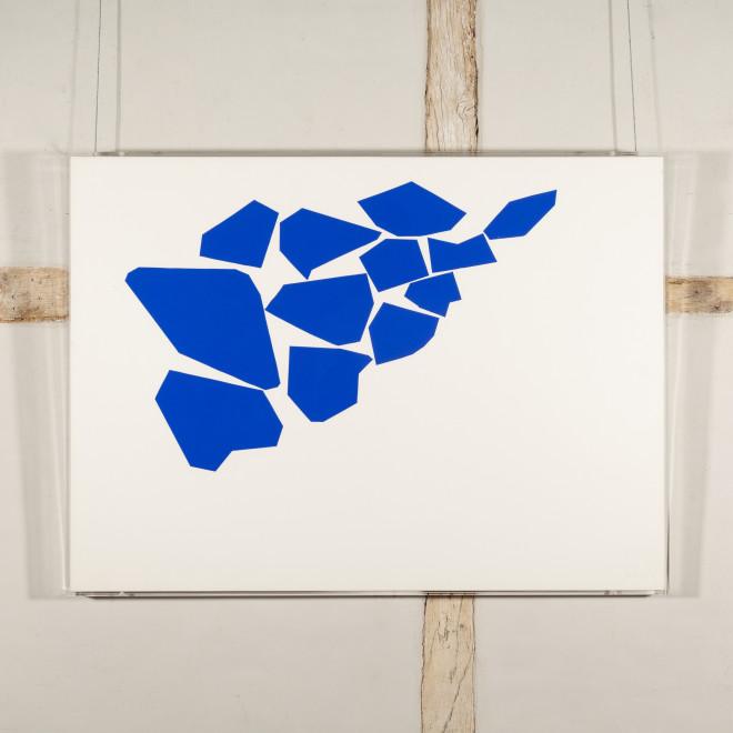 One Two Three (Cobalt Blue)