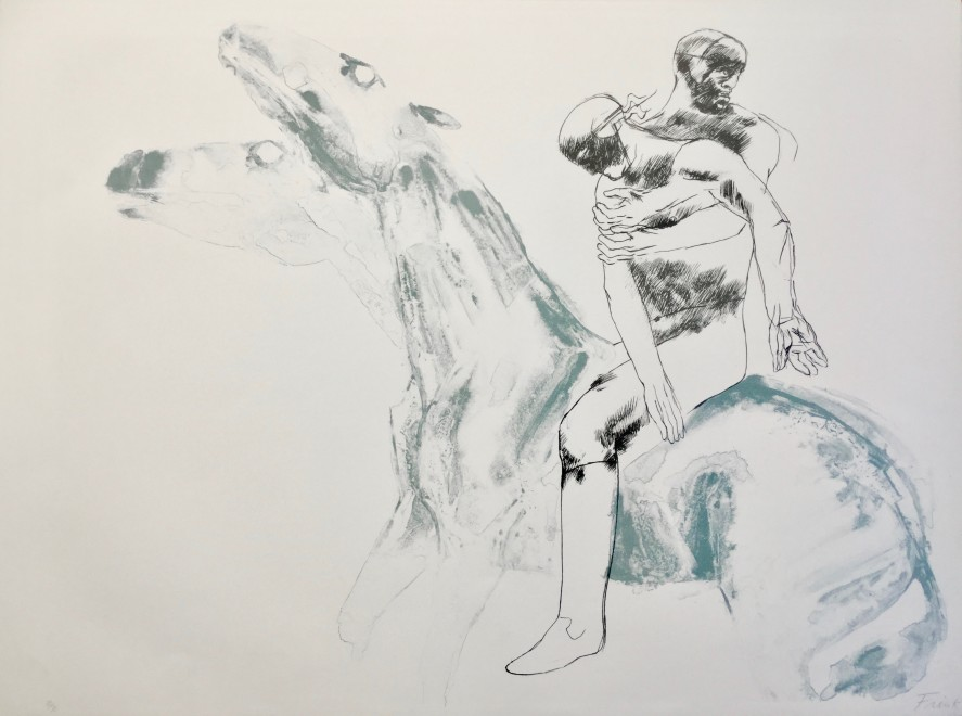 Man and Horse IV