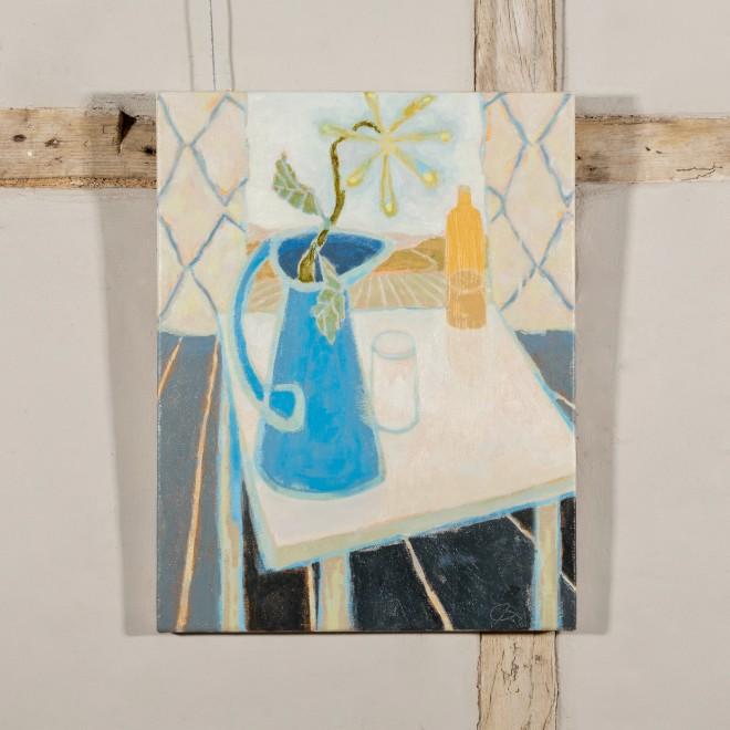 Untitled (Blue Jug)