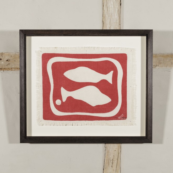 Two Fish (Red), from Porthia
