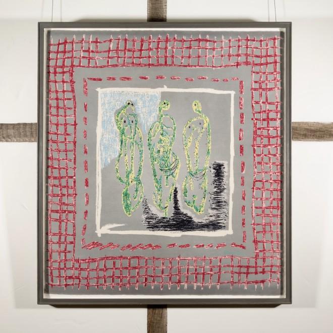 Three Standing Figures, for Ascher