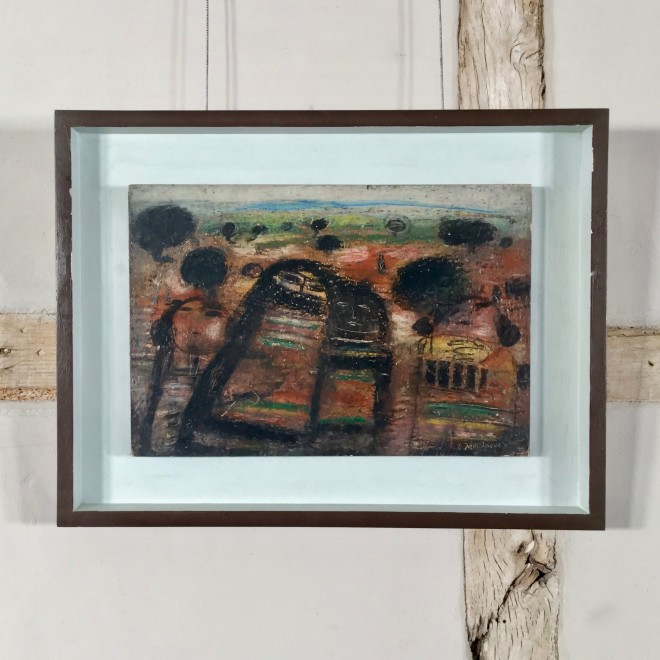 Untitled (Four Figures in a Landscape)