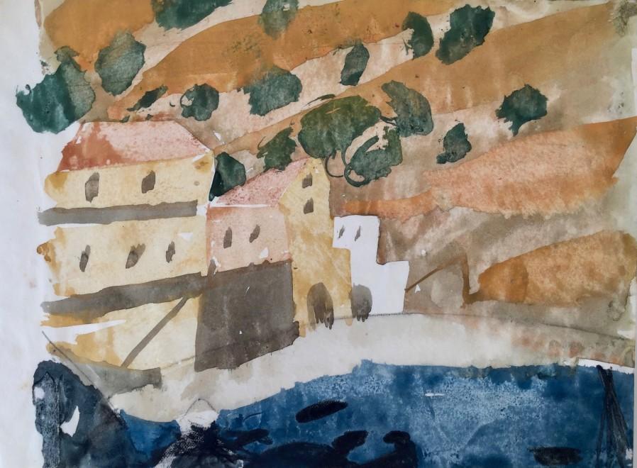 Buildings on the Amalfi Coast