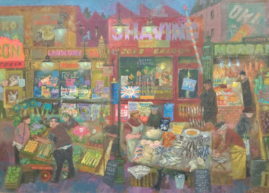 Market Scene, London