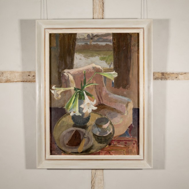 Interior Still life with Lillies, Chiswick