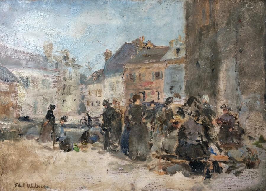 Market at Honfleur