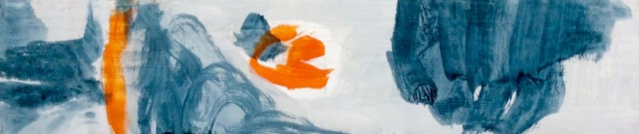 Composition with Orange and Grey