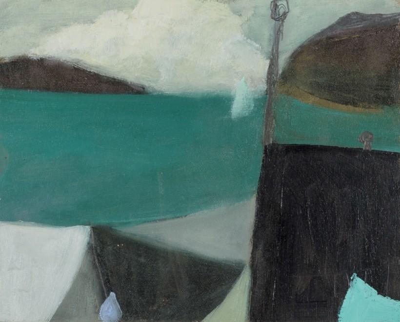 Sea Wall and Sail