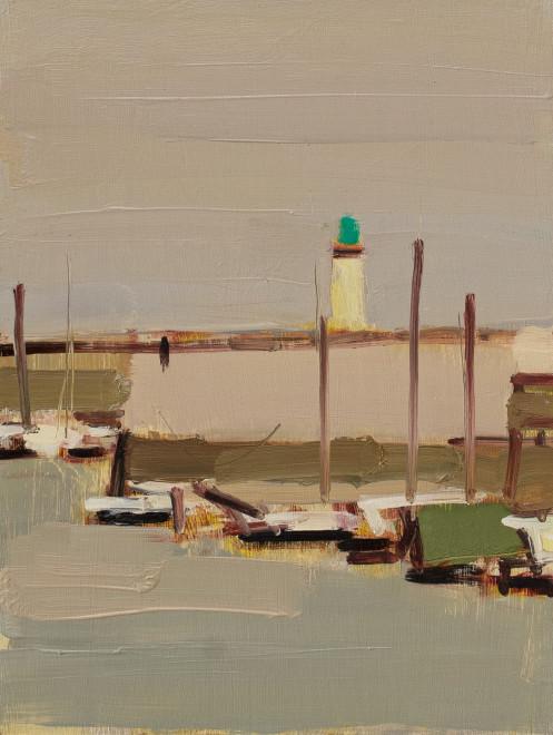 Lighthouse and Boats, La Flotte en Ré