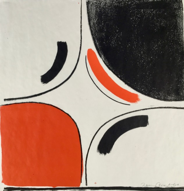 Untitled (Red and Black in Square) [Kemp 36]