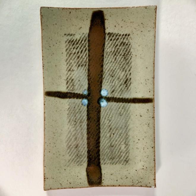 Rectangular tile (Brown)