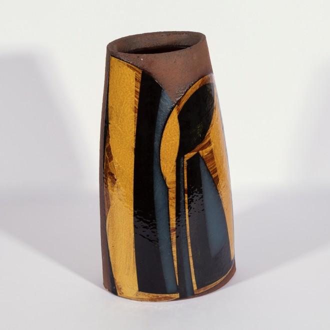 Large oval vessel (Dark honey)