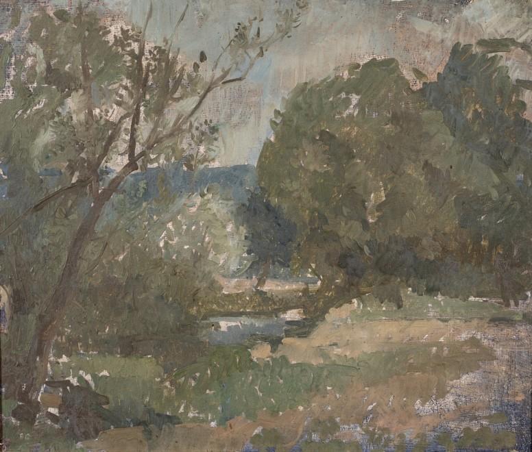 Landscape near Vezelay