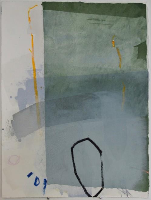 Work on Paper II (Blue)
