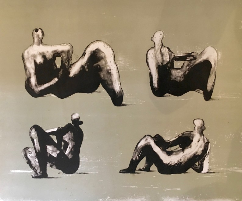 Four Reclining Figures