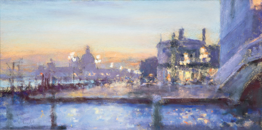 Bob Richardson PS, Evening light Venice