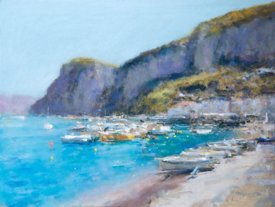 Boats in the bay Capri