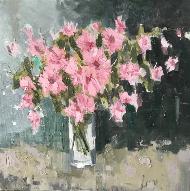 Gary Long, Pink in a glass