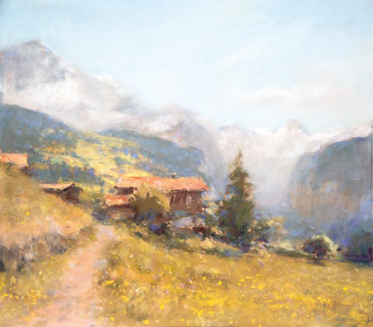 Bob Richardson PS, Mountain path Wengen