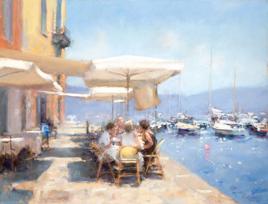 Bob Richardson PS, Lunch on the quay