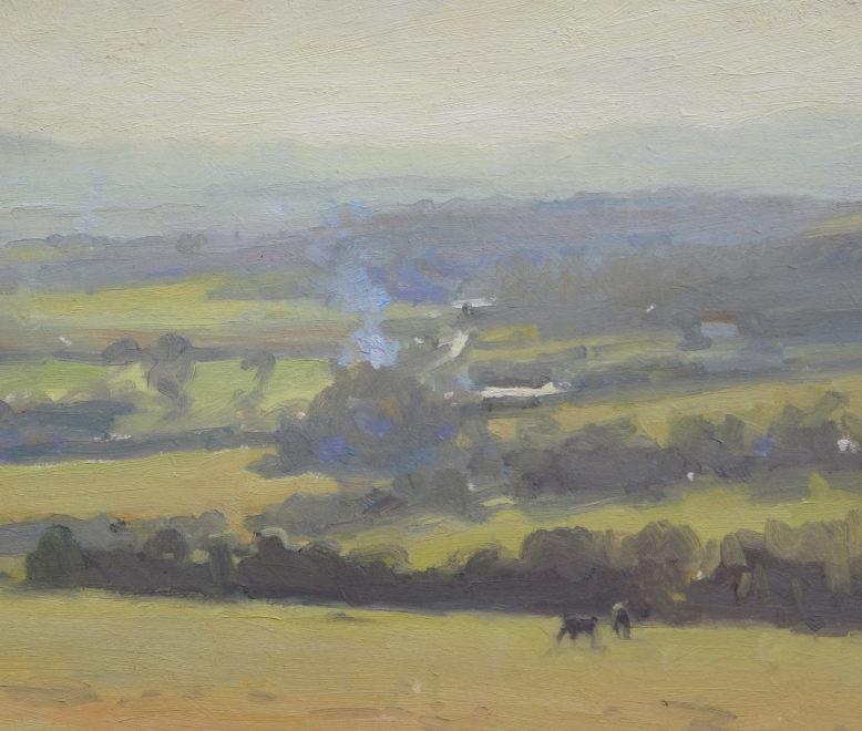 Edward Noott RBSA, Herefordshire morning
