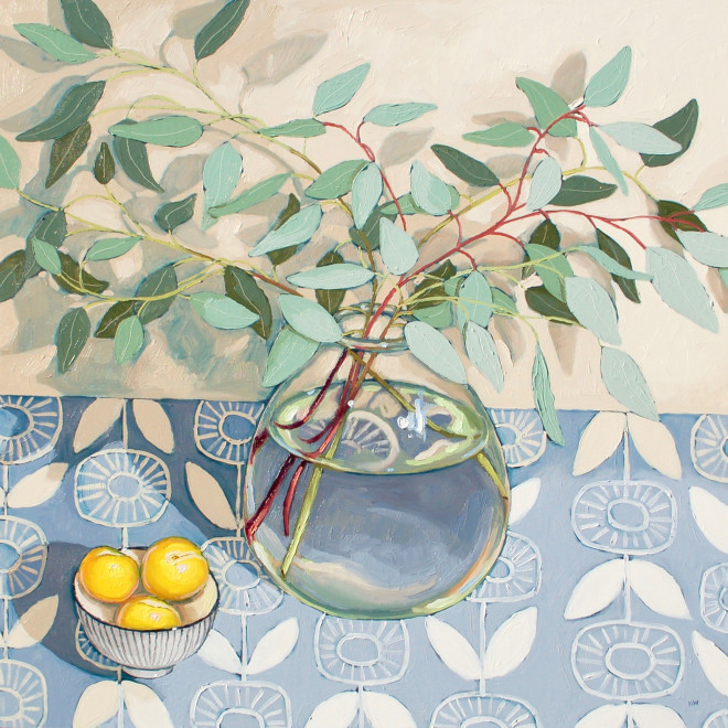 Halima Washington-Dixon, Eucalyptus with golden plums