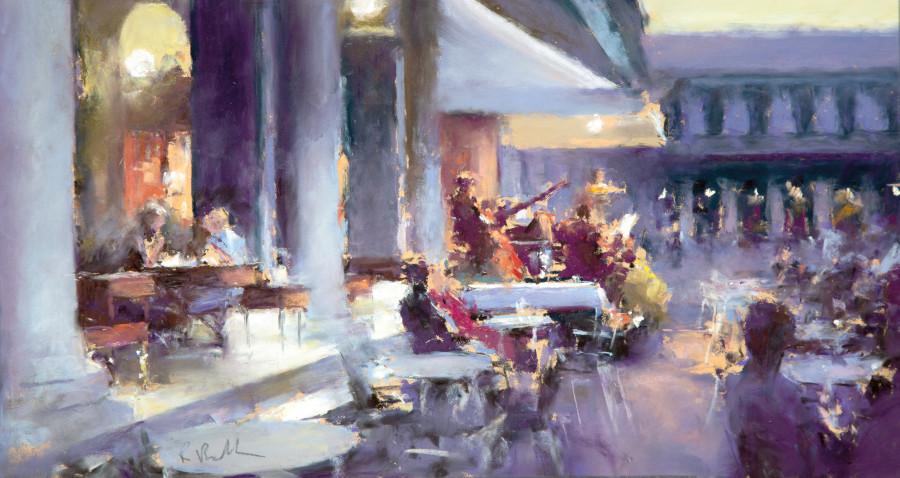 Bob Richardson PS, Musical evening Cafe Florian