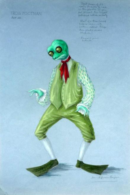 Frog Footman