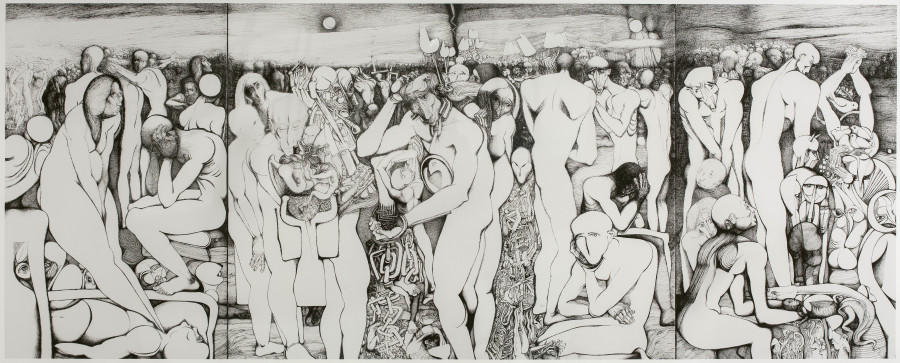 Ibrahim Salahi, The Resurrection, 2009