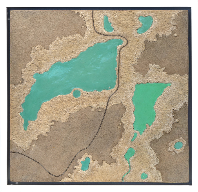 Diana Moore, Blue and Gold: a Texas Reservoir