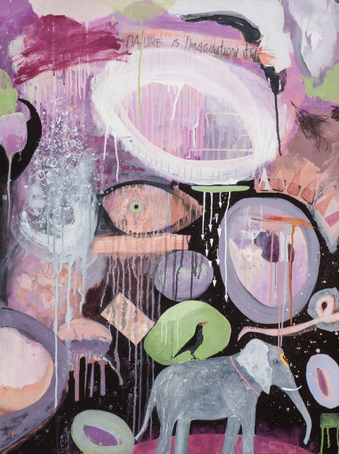 Alexandra Eldridge, Nature is Imagination Itself