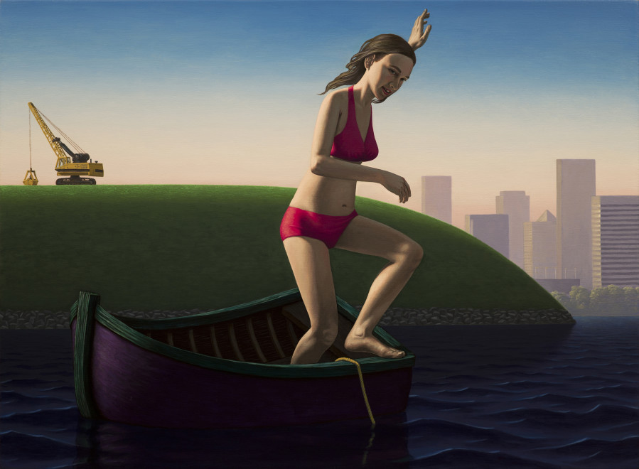 John Tarahteeff, Bather (Chasing the Anchor)