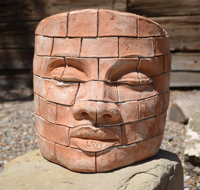 James Tyler, Brick face LOVE 2