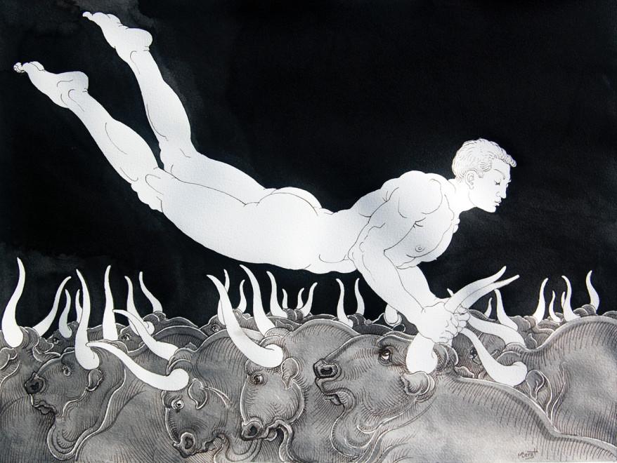 Michael Bergt, Bull Jumper
