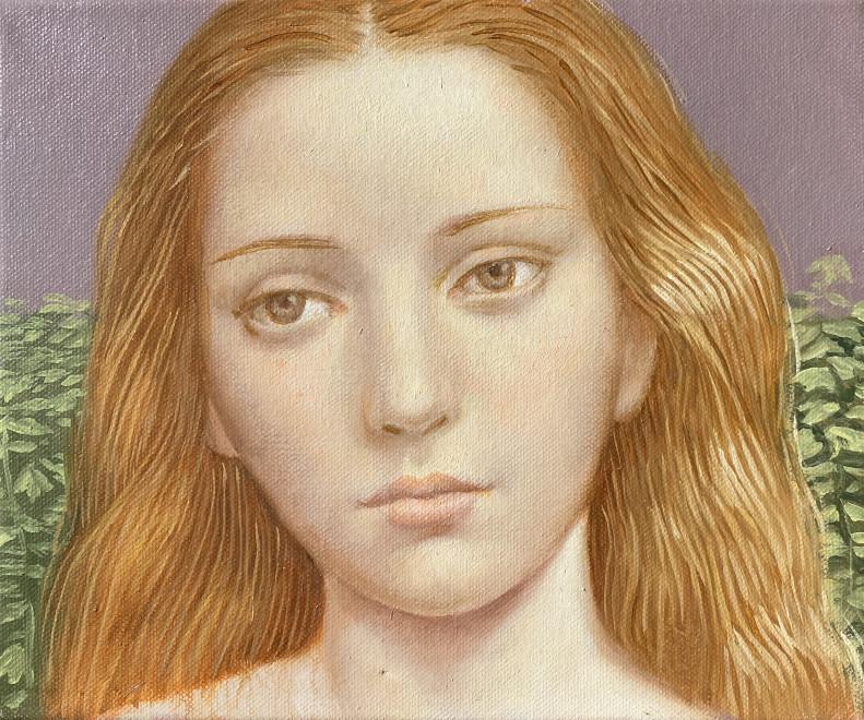 Alberto Galvez, Mujer Triptico No. 1